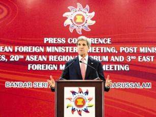 克里:中美仍就朝鮮等議題合作