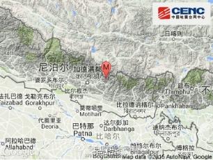 中尼邊境再發7.5級地震 西藏